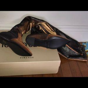 Roberto cavalli boots, thigh high.